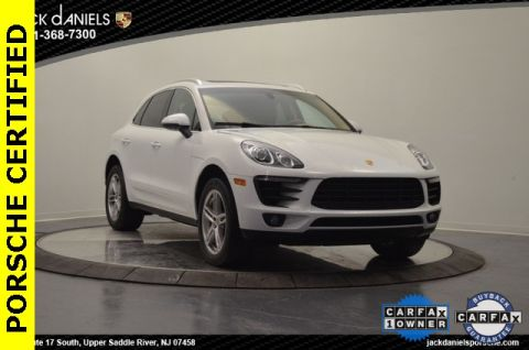 Certified Pre-Owned 2015 Porsche Macan S AWD
