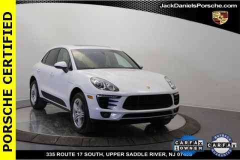 Certified Pre-Owned 2016 Porsche Macan S AWD