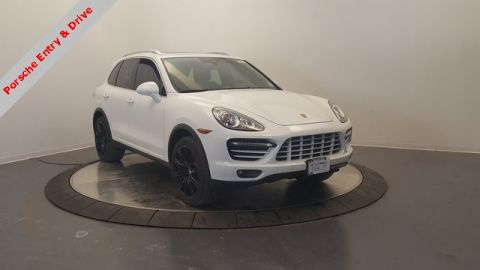 Pre-Owned 2014 Porsche Cayenne Turbo AWD